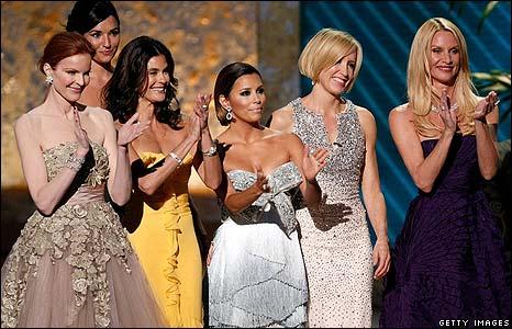 Marcia Cross, Teri Hatcher, Eva Longoria Parker, Felicity Huffman and Nicollette Sheridan