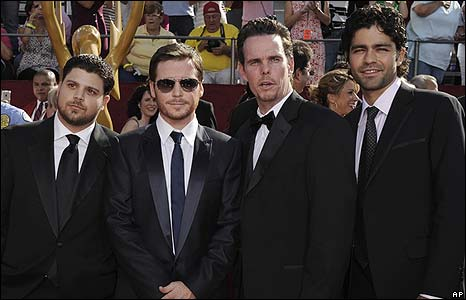 Jerry Ferrara, Kevin Connolly, Kevin Dillon and Adrian Grenier