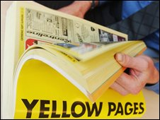 Yellow pages directory