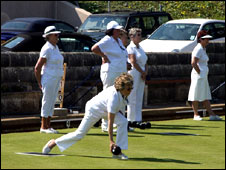 Bowls players