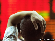 Man looking at share prices (Getty Images)