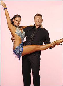 Darren Gough and Strictly Come Dancing partner Lilia Kopylova