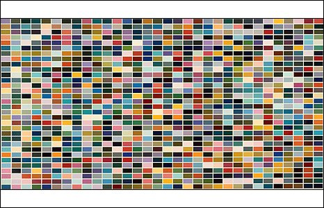 1024 Farben (1024 Colours) 1966 (© 2008 Gerhard Richter)