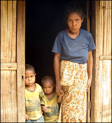 Family in East Timor