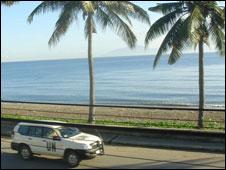 UN truck in Dili
