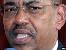 Sudan's president, Omar Al-Bashir