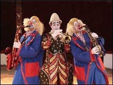 Zippos clowns