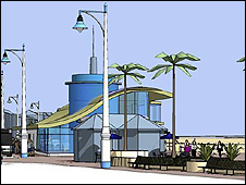Proposed Weymouth seafront revamp