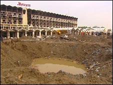 Islamabad Marriott site
