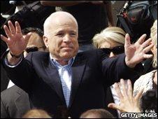 Senator John McCain in Wisconsin