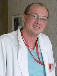 Plastic surgeon Oleg