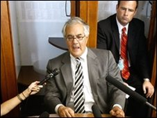 House Financial Services Committee Chairman Rep. Barney Frank