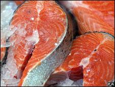 Yum, yum, salmon