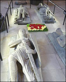 Graves in Temple Church