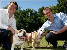 Bulldog co-founders, Rhodri Ferrier, left, and Simon Duffy