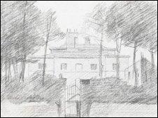 The Constable sketch