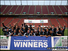 New Zealand won the 2006 World Cup in Edmonton