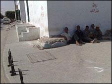 Labourers in Zuwarah