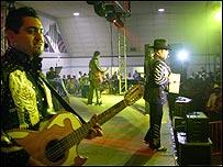 Los Tigres del Norte, en concierto