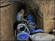 Rafah smugglers' tunnel