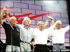 Pink Floyd reformed for Live 8 in 2005
