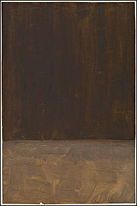 Mark Rothko. Untitled (Brown and Gray) 1969, National Gallery of Art, Washington. © 2008 by Kate Rothko Prizel and Christopher Rothko.