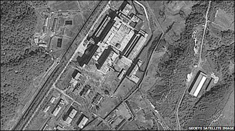 Radiochemical Laboratory (Satellite image from 2006)