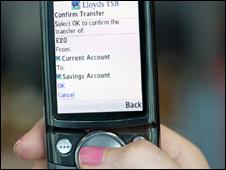 Lloyds TSB mobile transfer