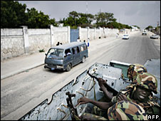 File photo of African Union peacekeepers in Mogadishu