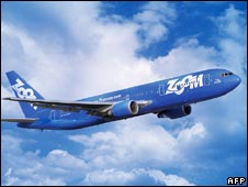 Zoom Airlines jet