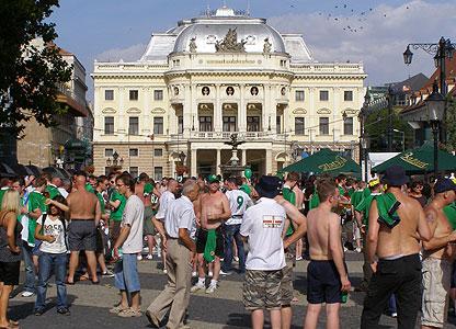 NI fan in Bratislava
