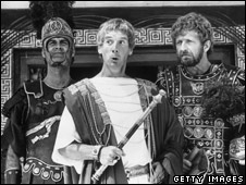 (L to R) John Cleese, Michael Palin and Graham Chapman