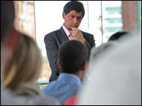 Jon Sopel  ...credit: Jeff Overs