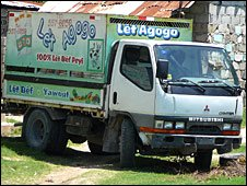 Let Agogo milk truck