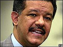 Leonel Fernández presidente de República Dominicana (foto de archivo)