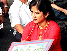Indian campaigner Lysa John
