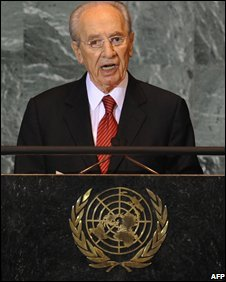 Shimon Peres at the UN