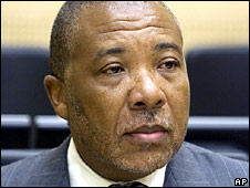 Former Liberian President Charles Taylor (file image)