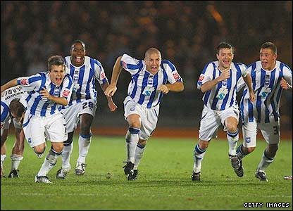 Brighton celebrate their victory