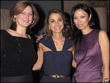 "Sarah Brown, Jordan""s Queen Rania and Rupert Murdoch's wife Wendi"