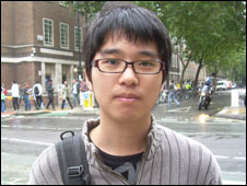 Won Jae from Korea, studying at UCL