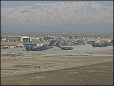 Bagram air base, file pic