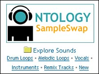 SampleSwap website