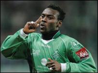 Guinea's Pascal Feindouno