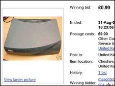 eBay sale page