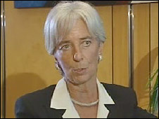 Finance Minister Christine Lagarde