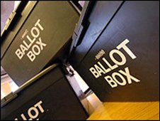 Election boxes
