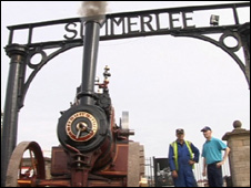 Summerlee Museum and steam engine
