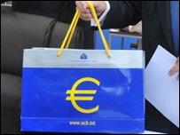 An ECB bag