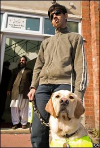 Mohammed Abraar Khatri y su perro, Vargo